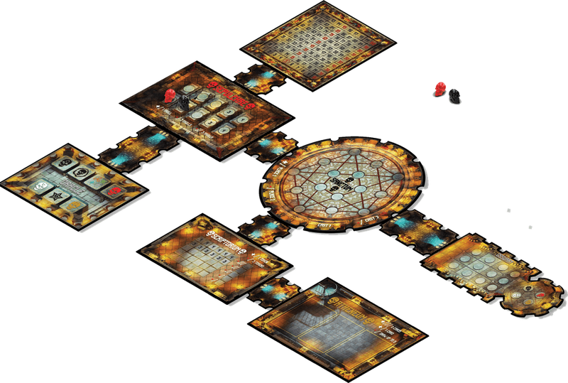 Dead Man's Cabal game board