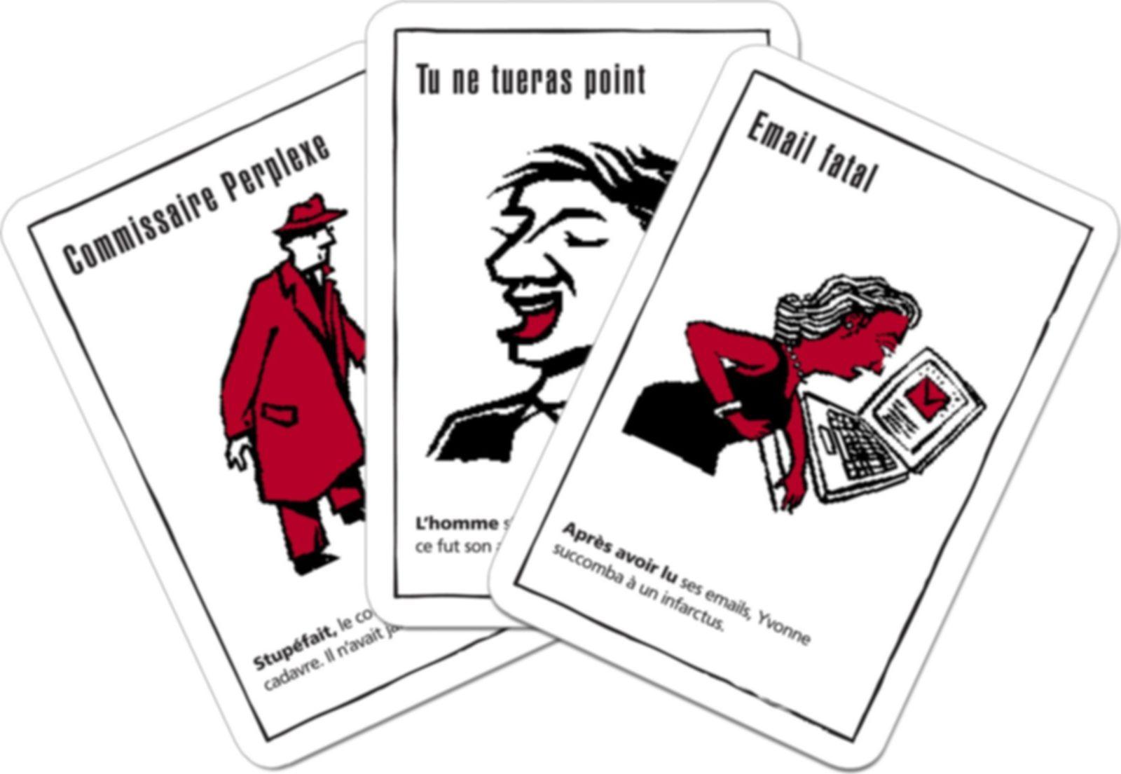 Black Stories 4 cards