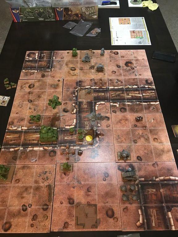 Rivet Wars: Battle of Brighton gameplay