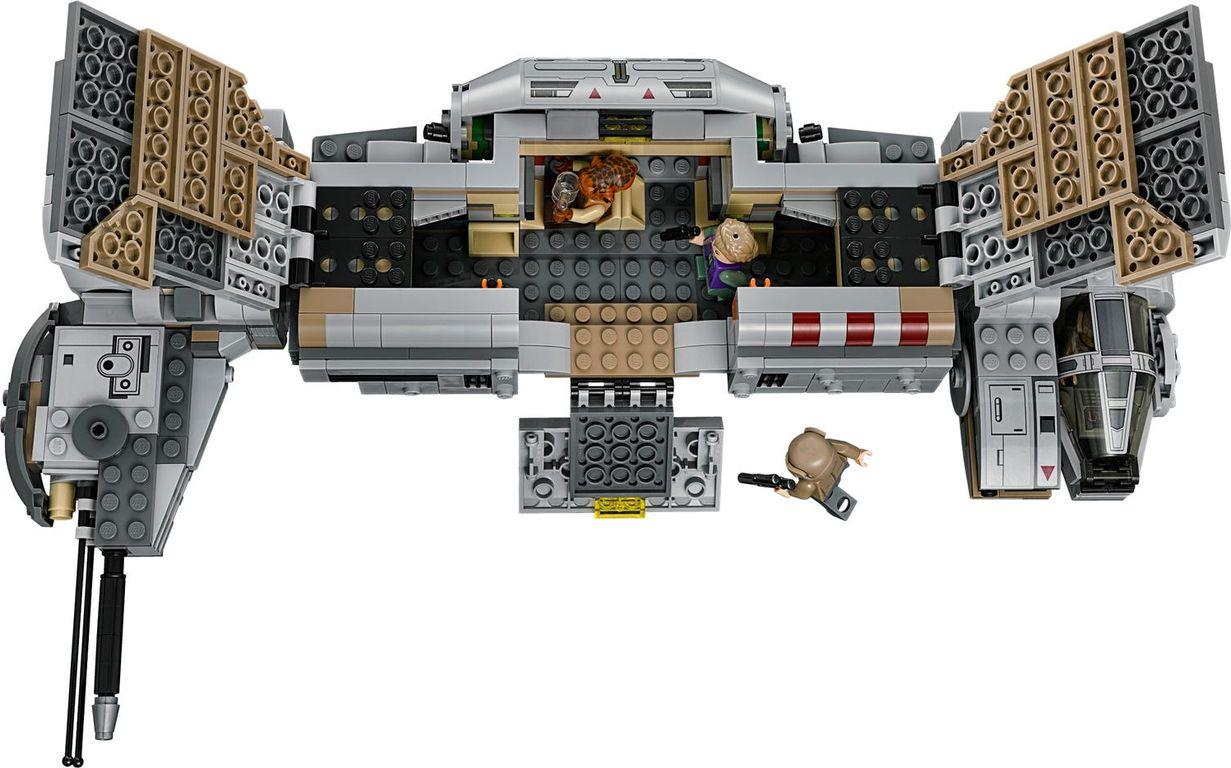 Resistance Troop Transporter interior