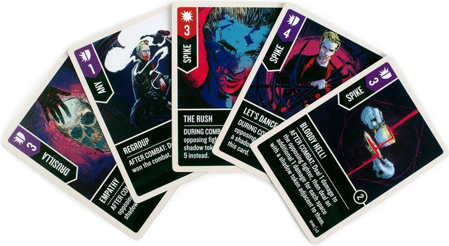 Unmatched: Buffy the Vampire Slayer cards
