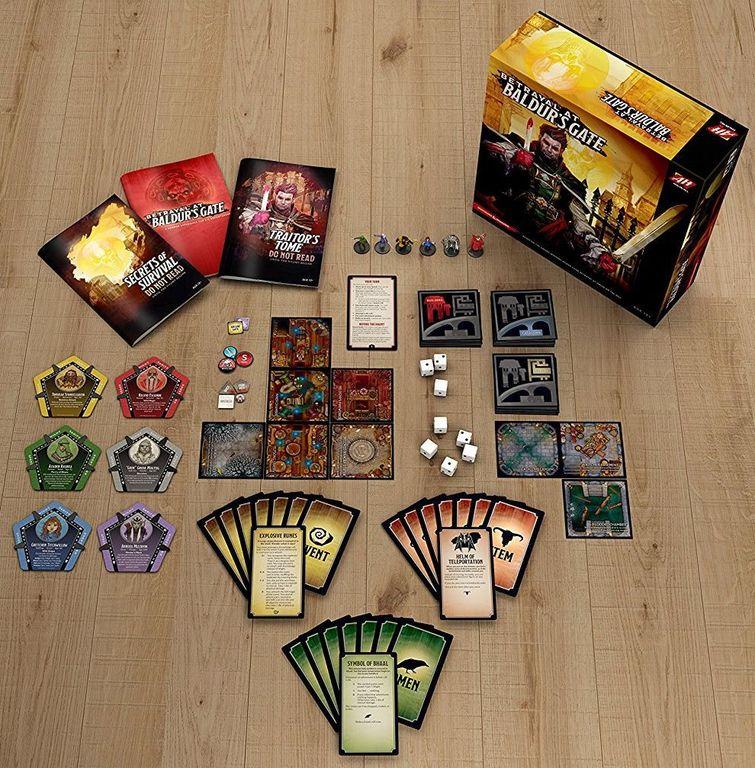 Betrayal at Baldur's Gate components