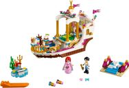 LEGO® Disney Ariel's Royal Celebration Boat components