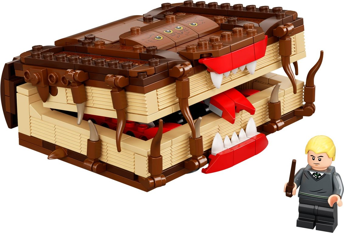 LEGO® Harry Potter™ The Monster Book of Monsters components