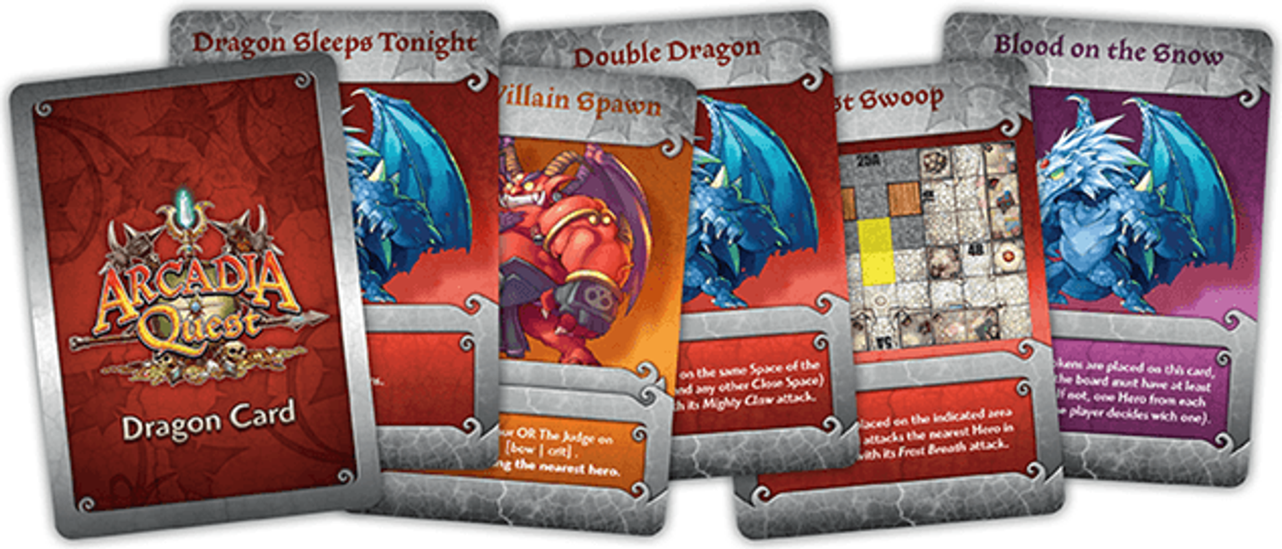 Arcadia Quest: Frost Dragon carte