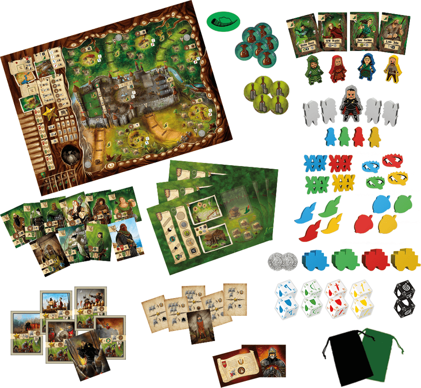 Robin Hood and the Merry Men components