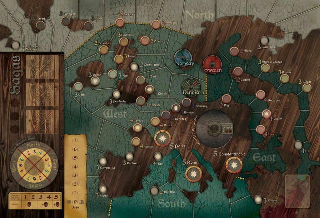 Fire & Axe: A Viking Saga gameplay
