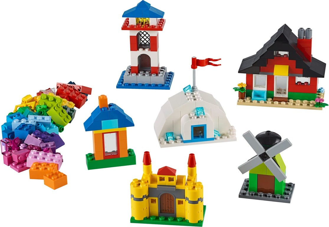 LEGO® Classic Bricks and Houses components