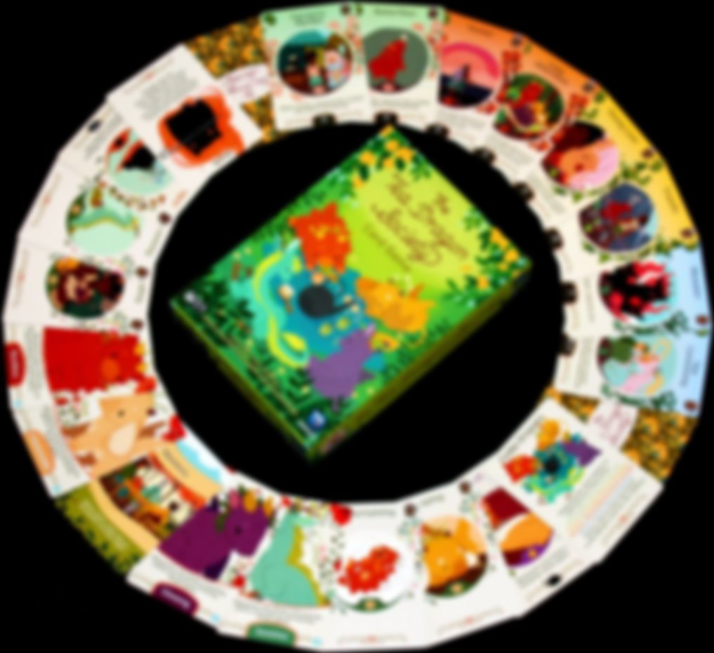 The Tea Dragon Society components