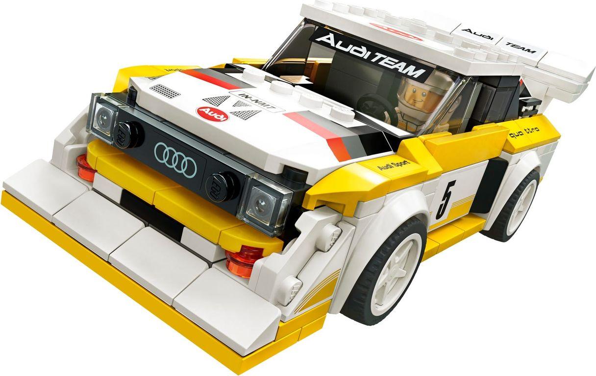 LEGO® Speed Champions 1985 Audi Sport quattro S1 components