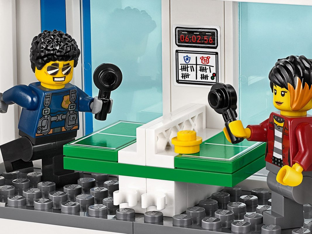 Police Station minifigures