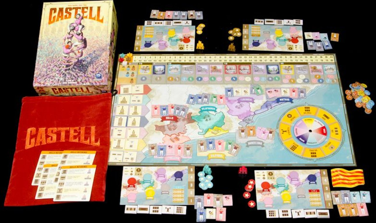 Castell components