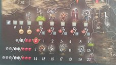 Legends of Andor: The Last Hope game board