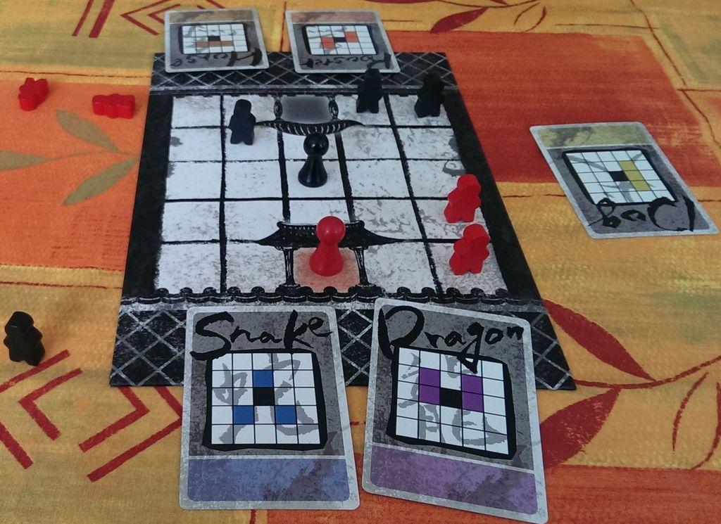 Onitama gameplay