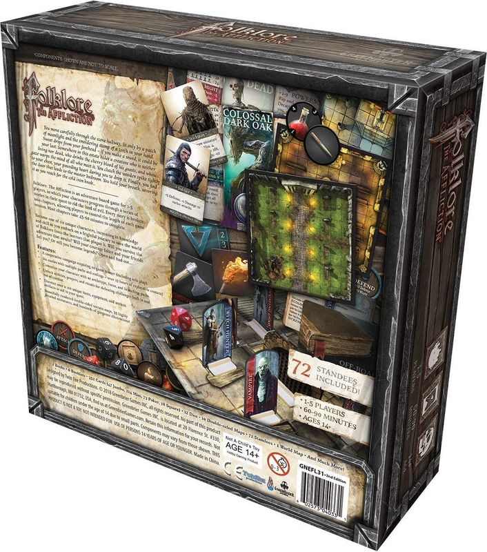Folklore: The Affliction back of the box