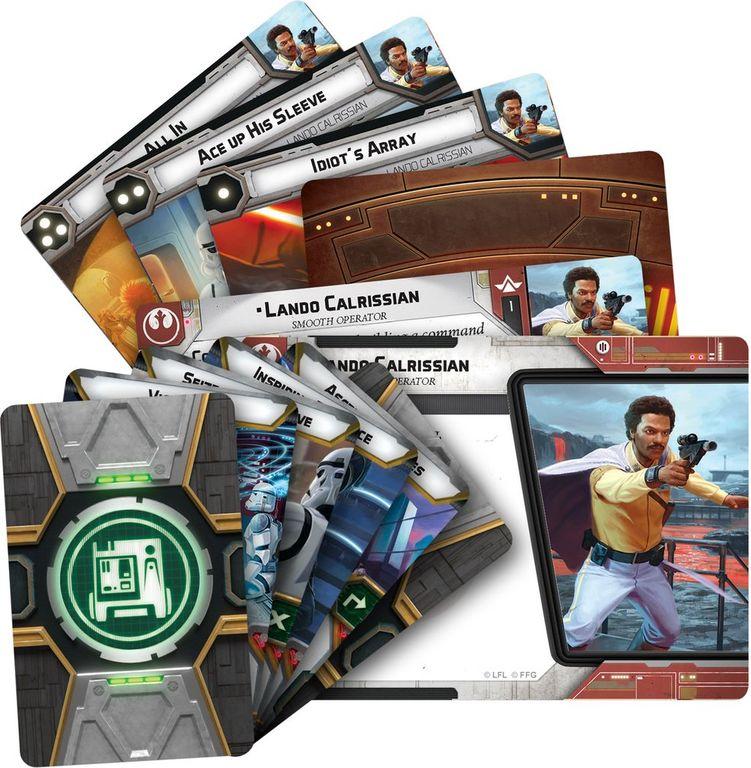 Star Wars: Legion - Lando Calrissian Commander Expansion cards