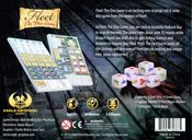 Fleet: The Dice Game back of the box