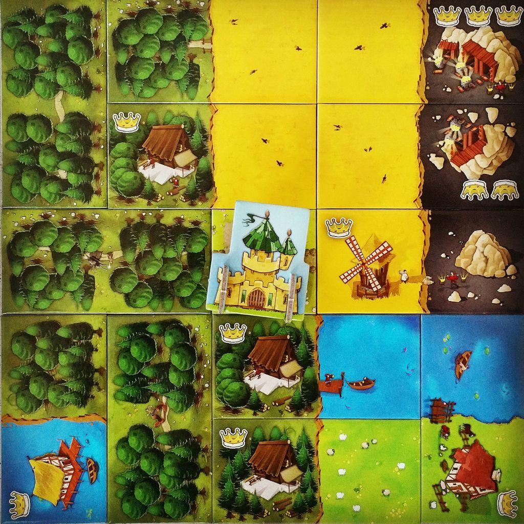 Kingdomino gameplay