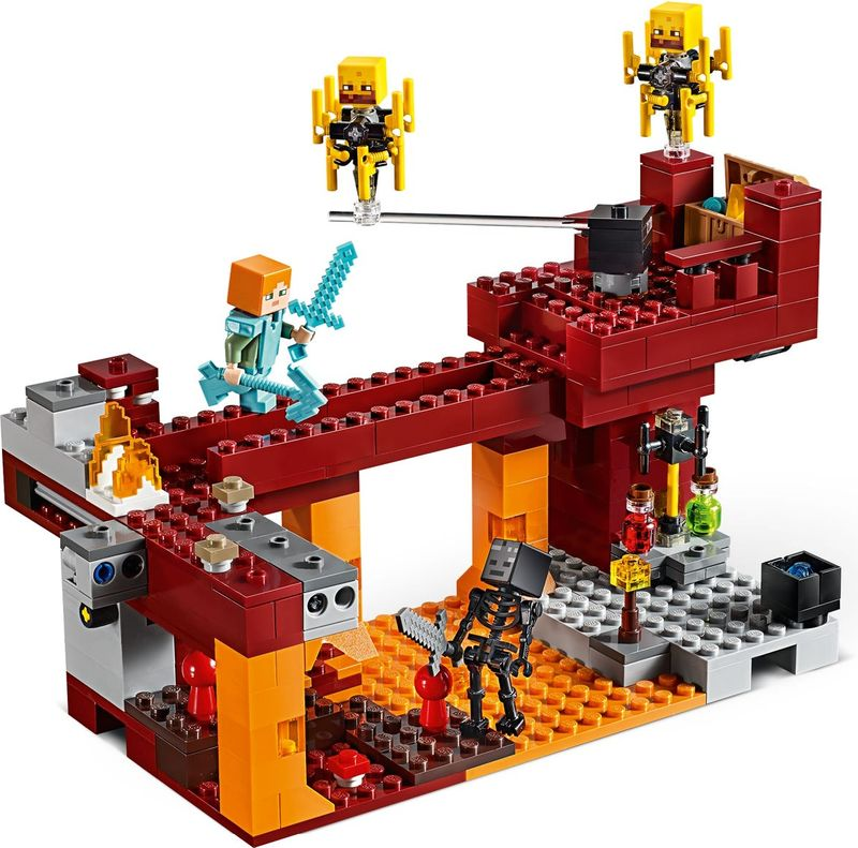 LEGO® Minecraft The Blaze Bridge minifigures