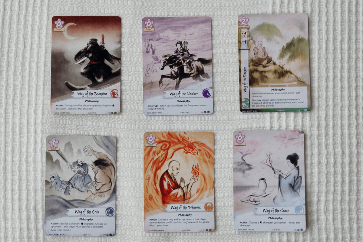 Legend of the Five Rings: The Card Game cards
