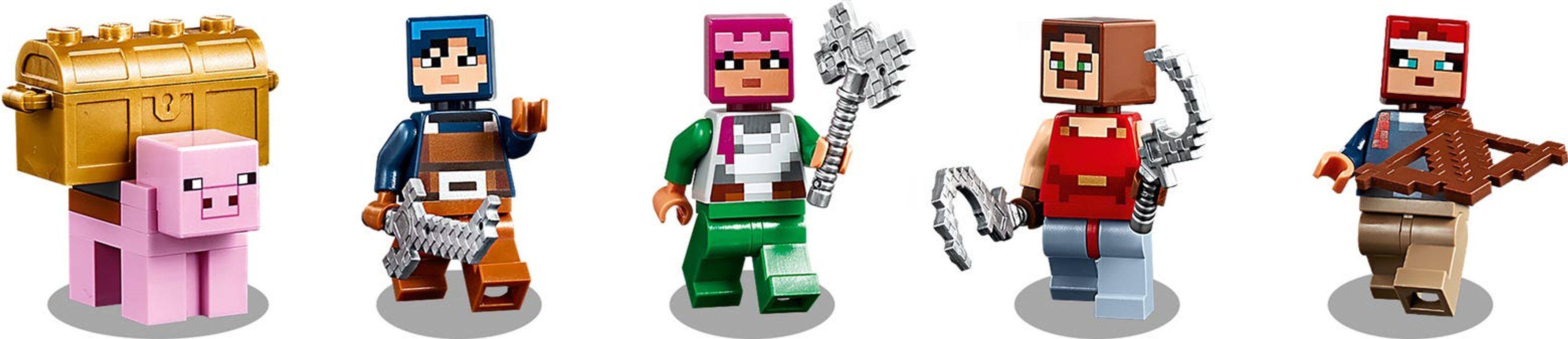 LEGO® Minecraft The Redstone Battle minifigures