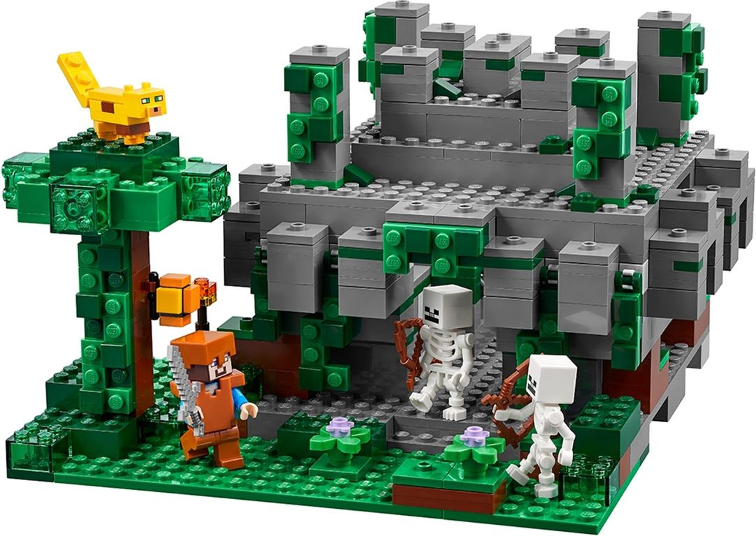 LEGO® Minecraft The Jungle Temple minifigures