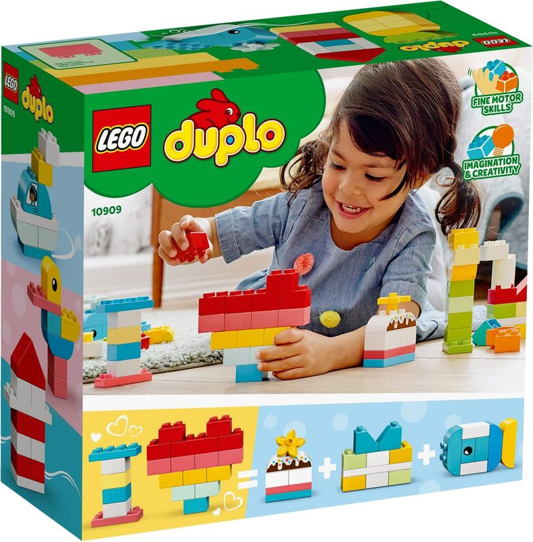LEGO® DUPLO® Heart Box back of the box