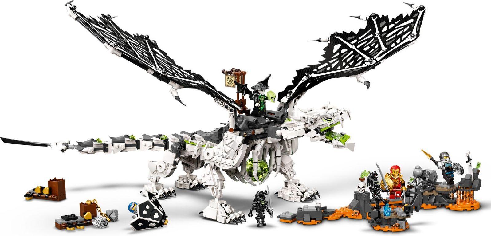 Skull Sorcerer's Dragon gameplay