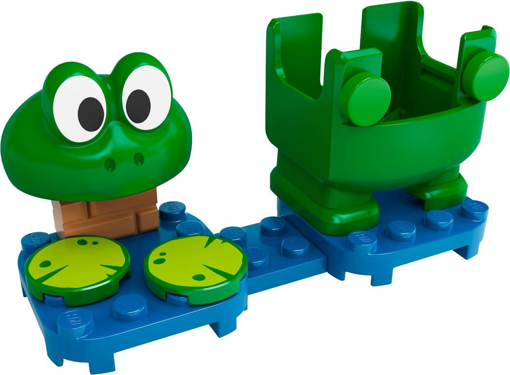 LEGO® Super Mario™ Frog Mario Power-Up Pack components