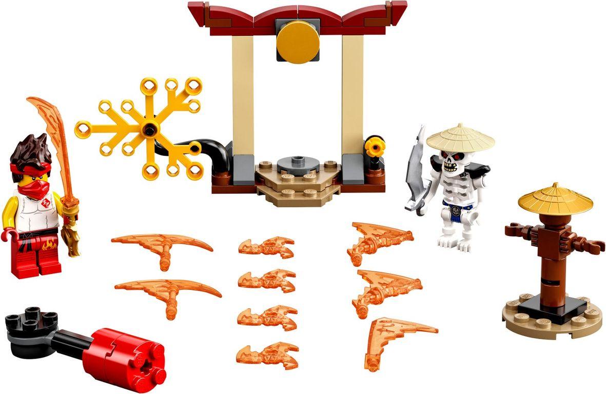 LEGO® Ninjago Epic Battle Set - Kai vs. Skulkin components