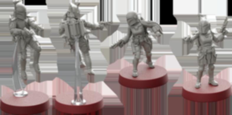 Star Wars: Legion – Clan Wren Unit Expansion miniatures