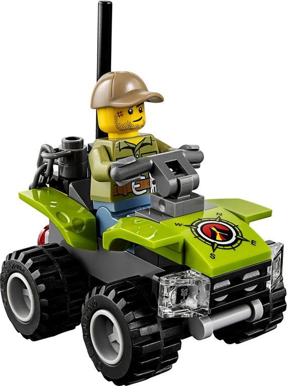 LEGO® City Volcano Starter Set components