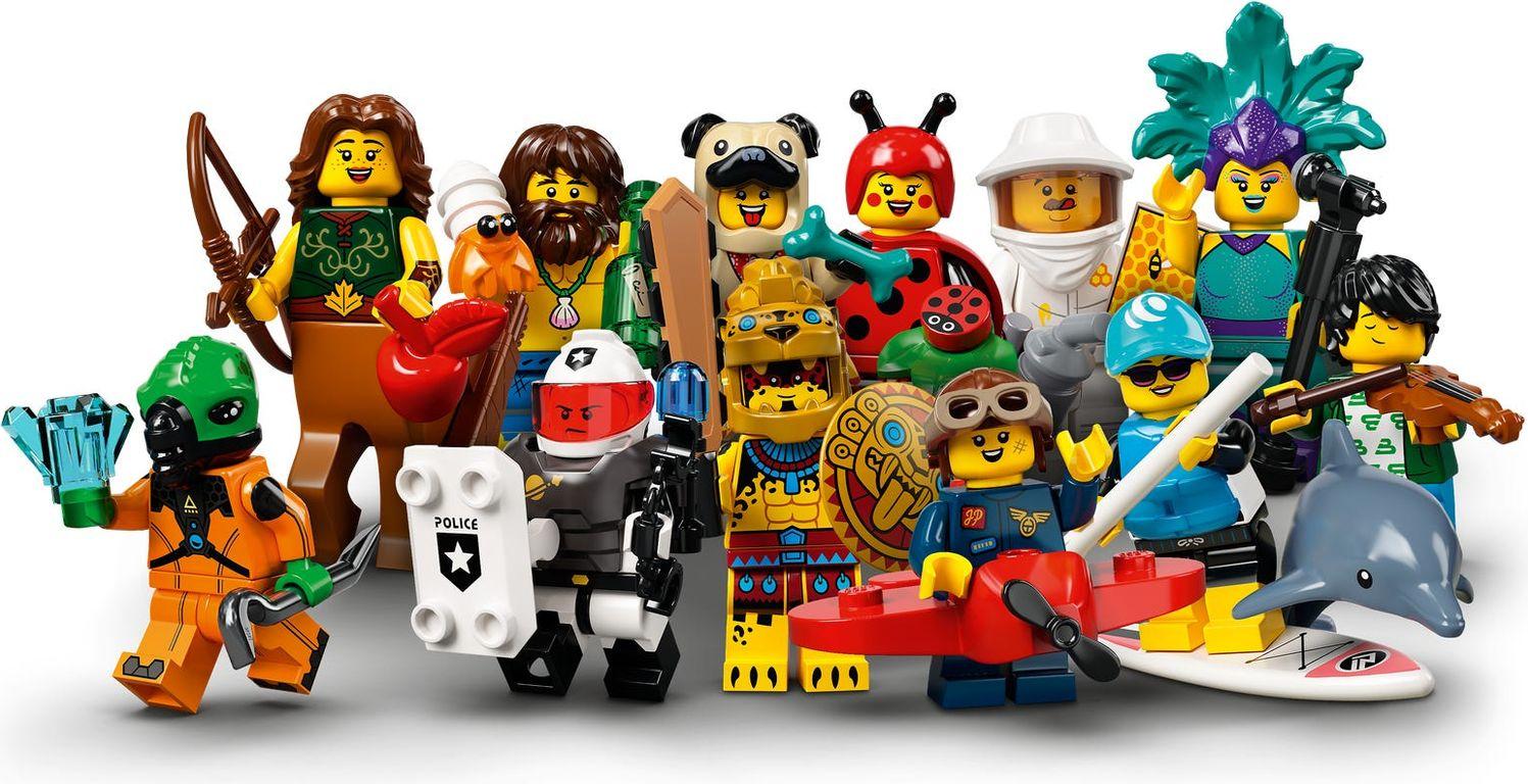 LEGO® Minifigures Series 21 components