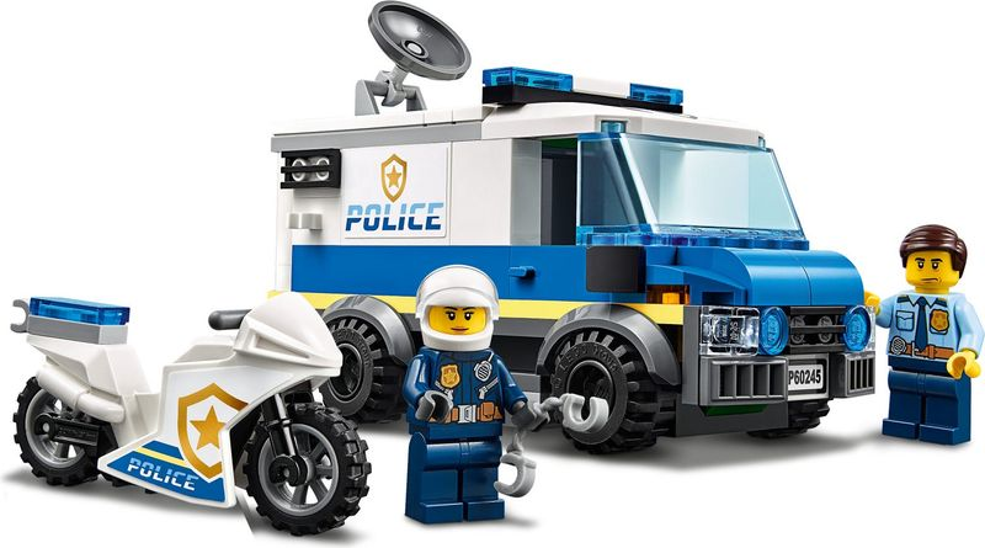 LEGO® City Police Monster Truck Heist minifigures