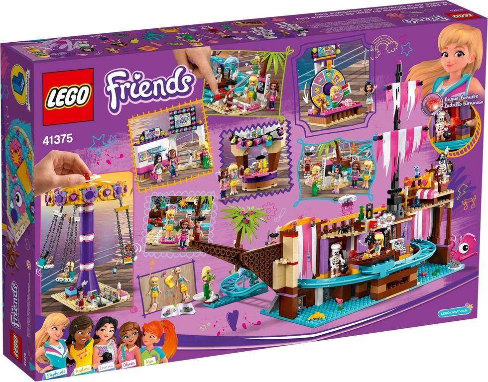 LEGO® Friends Heartlake City Amusement Pier back of the box