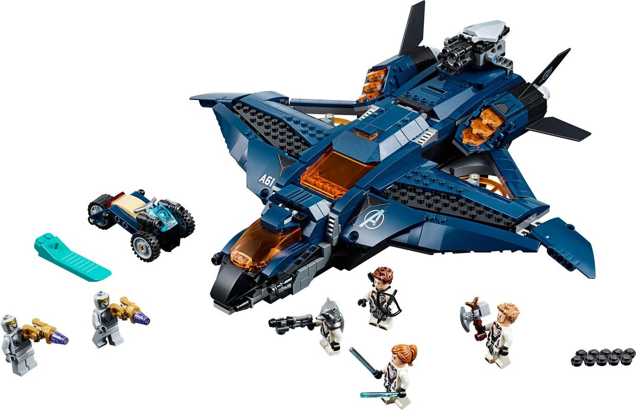 Avengers Ultimate Quinjet components