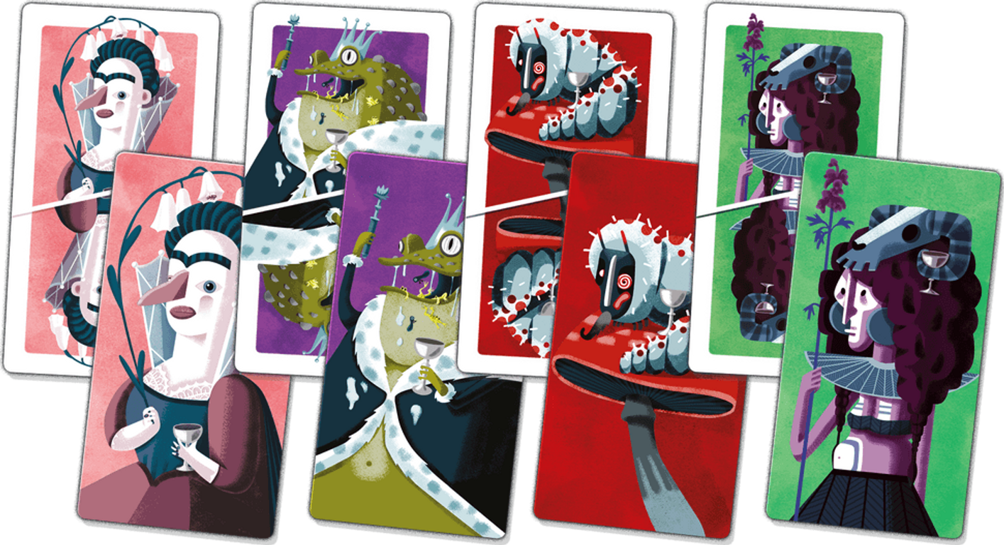 Poisons cards
