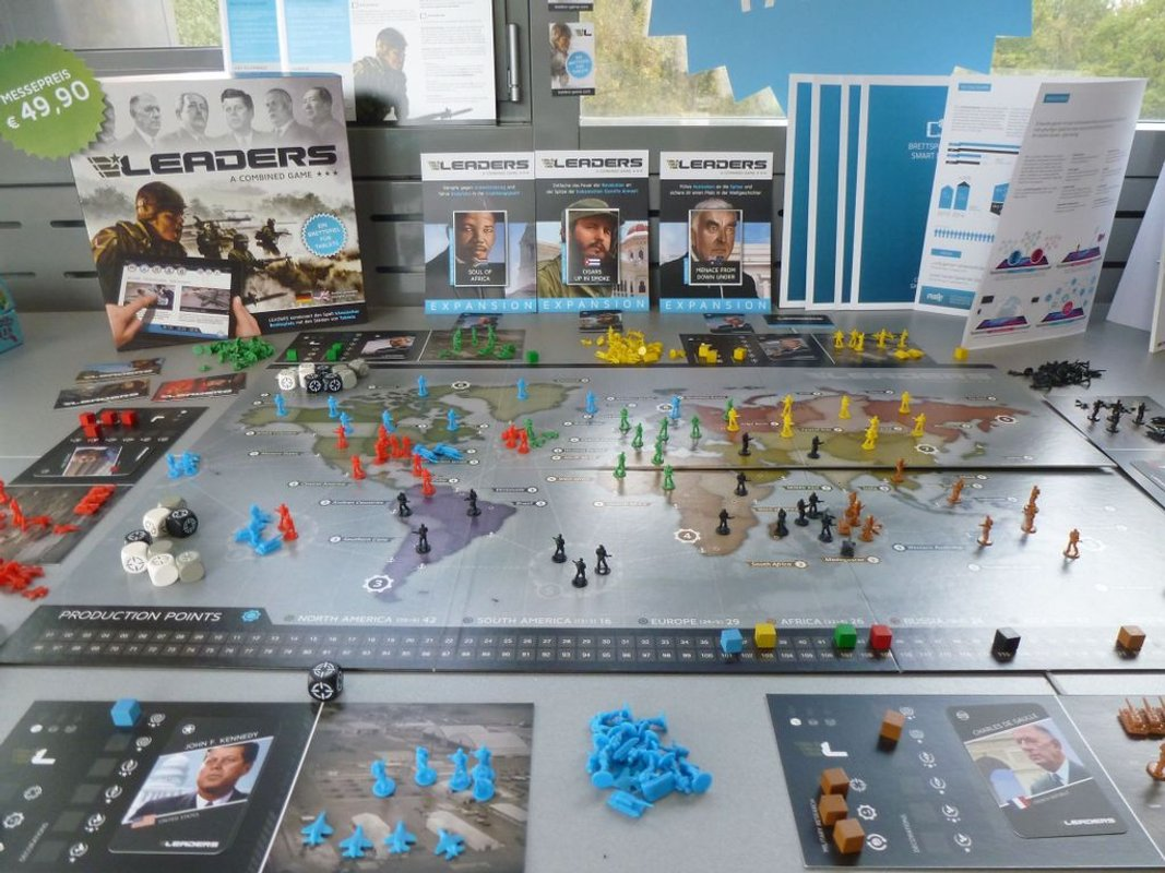 LEADERS: The Combined Strategy Game gameplay