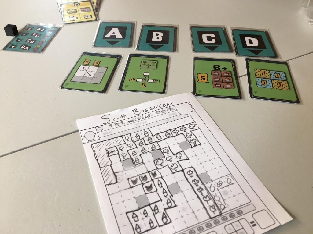 Cartographers: A Roll Player Tale gameplay