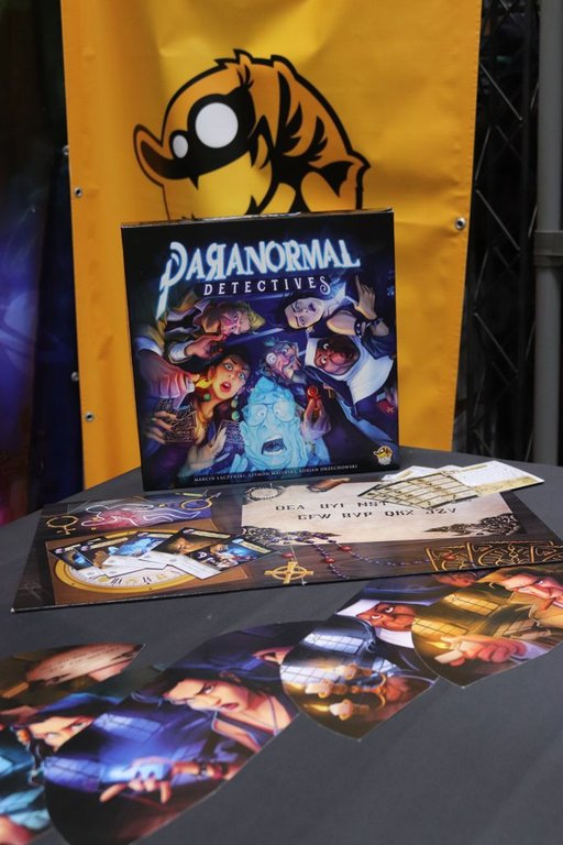 Paranormal Detectives components