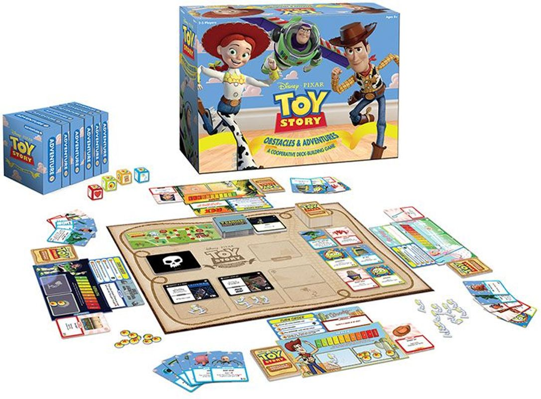Toy Story: Obstacles & Adventures components
