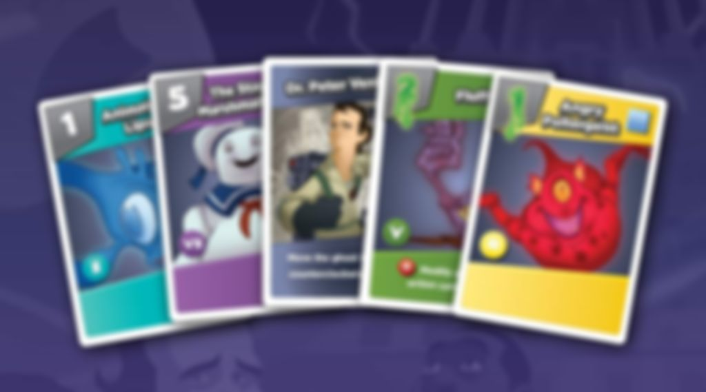 Ghostbusters: The Card Game cards