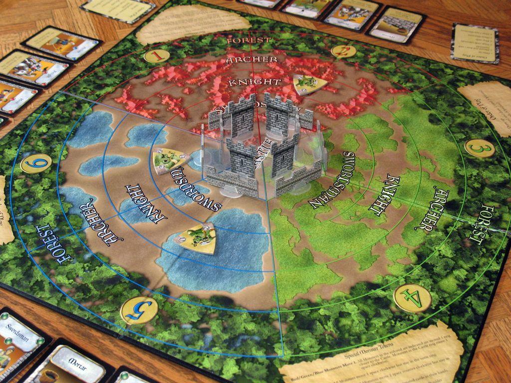 Castle Panic components