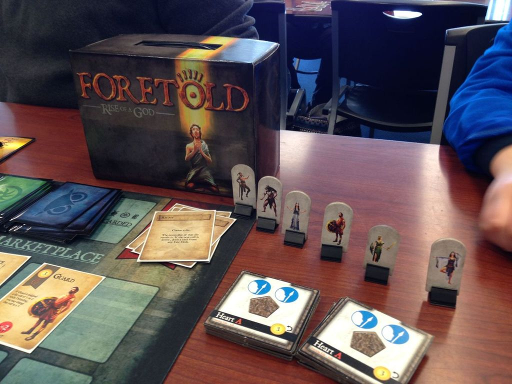 Foretold: Rise of a God gameplay