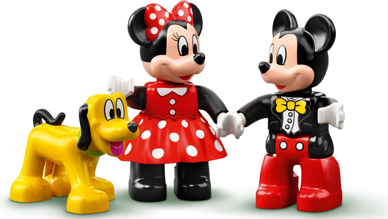 LEGO® DUPLO® Mickey & Minnie Birthday Train components