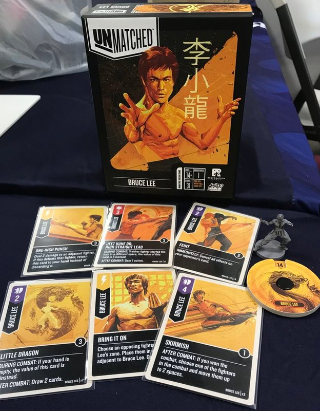 Unmatched: Bruce Lee components