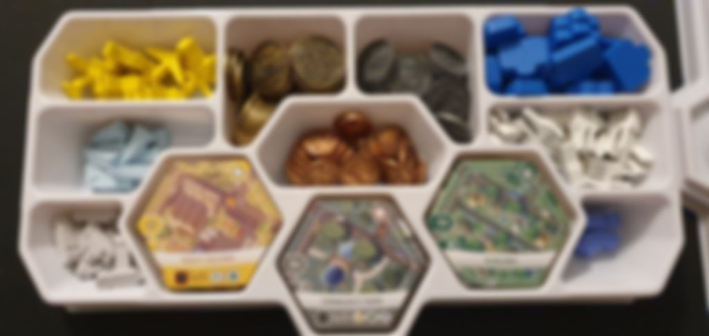 Suburbia: Collector's Edition components