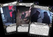 Star Wars: Legion - Luke Skywalker Operative Expansion cards