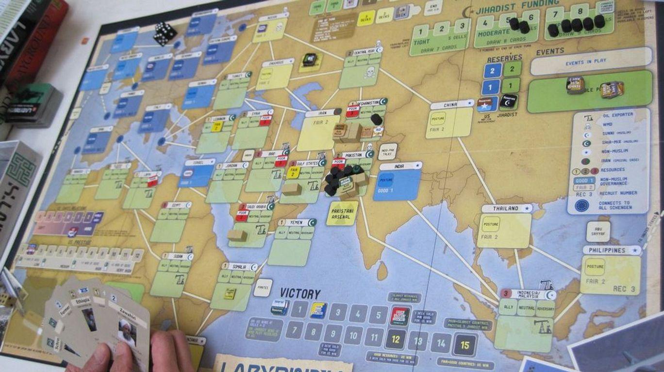 Labyrinth: The War on Terror, 2001 - ? gameplay