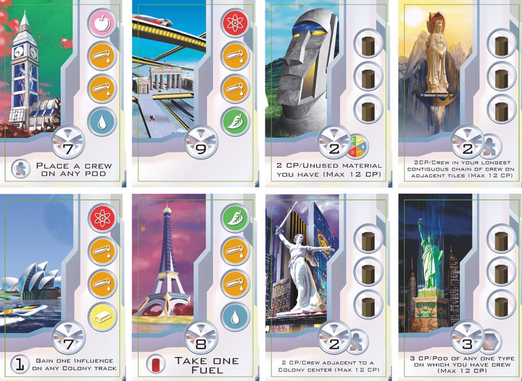 Beta Colony cards